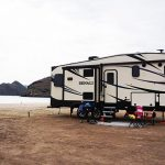 Dry RV Camping on Santispac Beach, Bahia Concepcion, Baja California Sur, Mexico